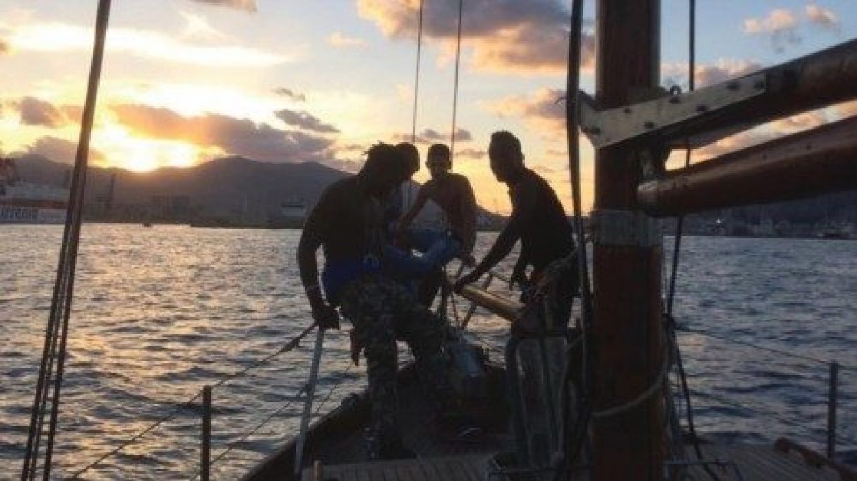 Restaurare una barca e la propria vita